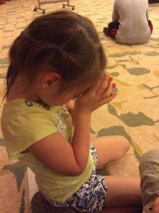 Chaya praying